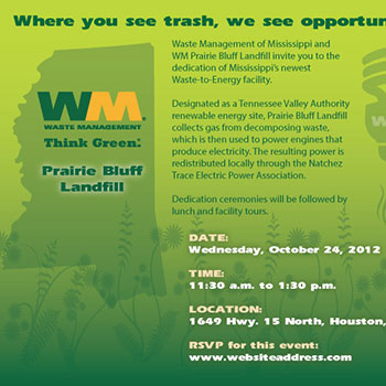 Waste Management Open House