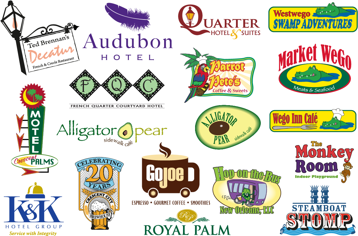 hospitality and entertainment logos