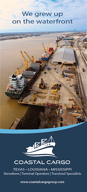Coastal Cargo brochure cover