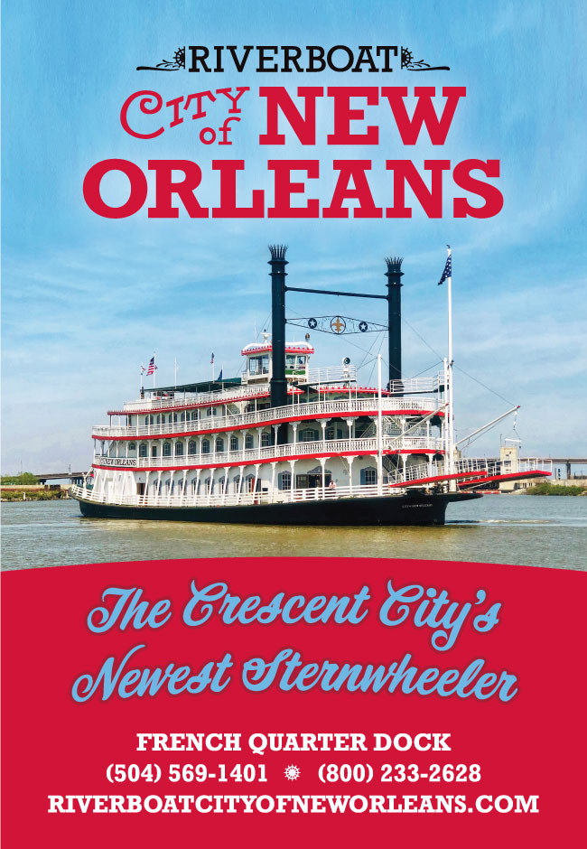 Riverboat CITY of NEW ORLEANS poster