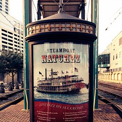 Steamboat NATCHEZ Kiosk poster